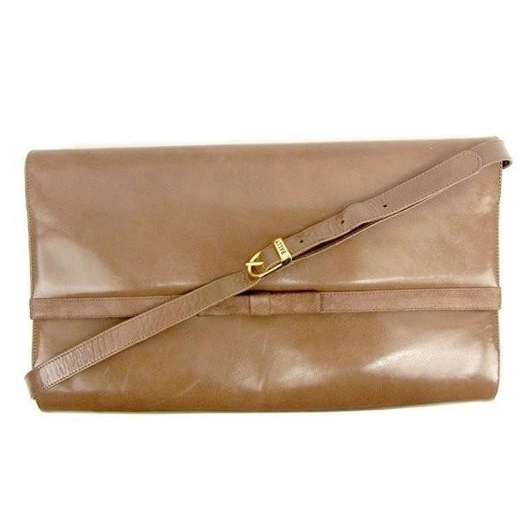 [آخر نقطة] حقيبة كتف قطرية بشريط كتف من بالي تستخدم T12524 H & Bally & Bag ، حقيبة