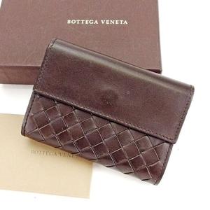 【ラスト1点】 ボッテガ ヴェネタ カードケース 名刺入れ 140100 イントレチャート BOTTEGA VENETA 中古 T14722