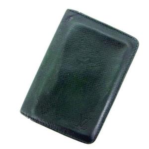 【ラスト1点】 ルイヴィトン 名刺入れ カードケース オーガナイザー ドゥ ポッシュ タイガ Louis Vuitton 中古 T13599