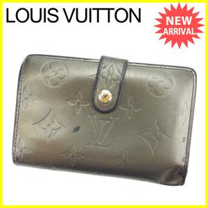 【ラスト1点】 ルイヴィトン がま口財布 二つ折り財布 ポルトモネビエヴィエノワ M65152 モノグラムマット Louis Vuitton 中古 L1029