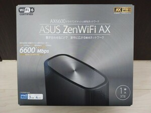 ASUS ZenWiFi AX XT8 AX6600 トライバンドメッシュWiFi6