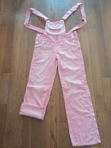 可愛い♪ ピンク オールインワン サロペット オーバーオール 新品 Mサイズ