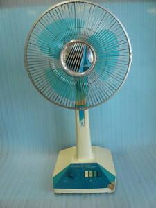 ■当時物扇風機■三菱 Summer Life お座敷30㎝ 3枚羽 R30A-W #昭和レトロ