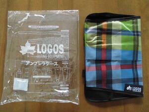 自動車内や玄関で便利◆ロゴス×エディオン オリジナルアンブレラケース チェック柄/LOGOS 非売品◆送込未使用品