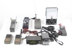 大量セット 無線機 まとめ売り YAESU Bearcat national kenwood 三菱 ICOM FT-73 BC-200XLJ TH-K27 MT-370 IC-339など 【ジャンク品】