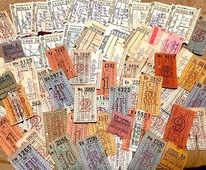 海外紙モノ ヴィンテージ チケット 大量 06