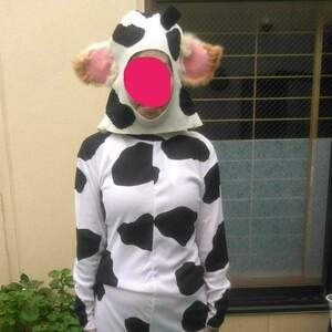 コスプレ ハロウィーン 牛の着ぐるみ