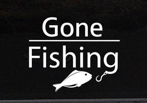 Gone フィッシング 釣り 魚釣り 海釣り 川釣り アウトドア レジャー◆オリジナルステッカー