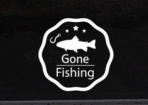 Gone フィッシング 釣り 魚釣り 海釣り 川釣り アウトドア レジャー2◆オリジナルステッカー