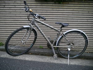 【中古】SANNOW SPORTS ロードバイク/自転車 シルバー系