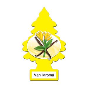 アメリカの香り エアフレッシュナー 芳香剤 リトルツリー LittleTrees バニラロマ VanillaRoma 1pc Made in USA