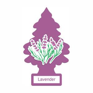 アメリカの香り エアフレッシュナー 芳香剤 リトルツリー LittleTrees ラベンダー Lavender 1pc Made in USA