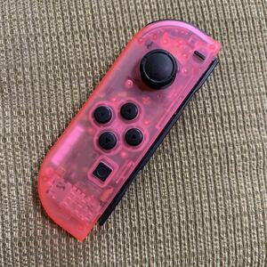 動作確認済 Nintendo Switch Joy-Con スケルトン ピンク 左 L - ニンテンドースイッチジョイコン コントローラー