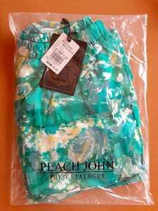 新品未開封 PJ ミニスカート フリル スカート 花柄 ミント マイハニービー 緑 フリルスカート ピーチ・ジョン 裏地付き