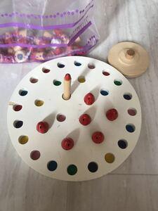 木製パズル はめ込むパズル キノコ 遊び 男の子 女の子 かわいい 室内おもちゃ カラフル パズル