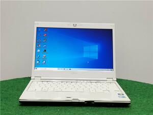 カメラ内蔵/13型/中古/ノートPC/Win10/500GB/4GB/i3-M330/リカバリー領域/FMV MG/G70 動作良品 Office搭載