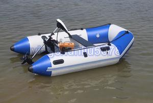 新品推薦★大人気★2.4メートル パワーボート V型船底 フィッシングボート ゴムボート 船外機可 釣り船