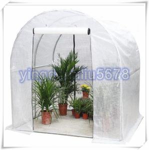 品質保証★実用品★組み立て簡単 PE素材 ビニールハウス 温室 簡易温室 ビニール温室 菜園ハウス グリーンハウス ファ 雨を防ぐ 保温
