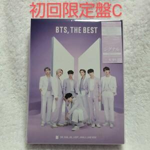 BTS,THE BEST 初回限定盤C CD×2枚 フォトブックレット ステッカー2枚 BTS 防弾少年団 バンタン 開封済み