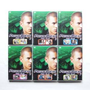 【送料無料】プリズンブレイク DVD 全6巻(2~7)