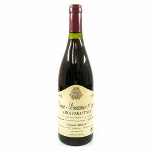 1995年 ヴォーヌ ロマネ クロ パラントゥー 赤ワイン 750ml 13度