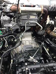H27 Isuzu Giga QKG-CYJ77A engine * Transmission 6UZ1 set