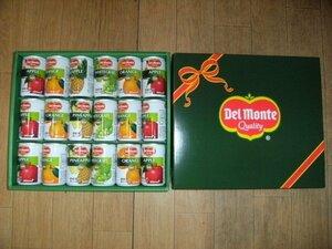 新品★詰め合わせ ギフトセット★デルモンテ 100% 果汁 飲料ギフト 18缶セット★100%ジュース フルーツ 果物