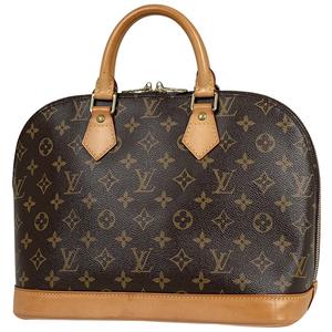 ルイ・ヴィトン Louis Vuitton アルマ 手提げ ハンドバッグ モノグラム ブラウン M51130 レディース 【中古】