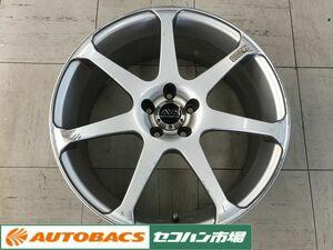 [ secondhand goods 4 pieces set ] HachiRoku, Prius, Corolla sport, Legacy .! Yokohama AVS model 7 18 -inch 7.5J +50 5 hole PCD100