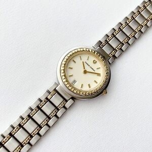 CHARLES JOURDAN レディースクォーツ腕時計 稼動品