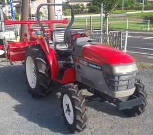 鹿児島発 ヤンマー30馬力 トラクターRS-30 パワステ 自動水平、耕深オート 逆転PTO バッテリー新品
