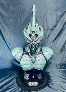 【極美品】ガイバー ダークヒーロー 1/1等身大バスト スティーブ・ワン 高屋良樹 証明書付 GUYVER Elite Creature Collectibles Steve Wang