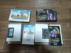 ゲームボーイアドバンスソフト F-ZEROとスーパーマリオアドバンス