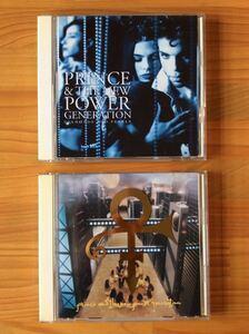 【CD】PRINCE/DIAMONDS AND PEARLS・PRINCE ★★匿名配送 送料無料