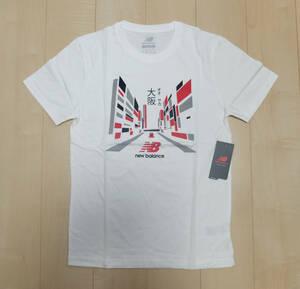 新品! ニューバランス New Balance Tシャツ メンズ 白 S 大阪