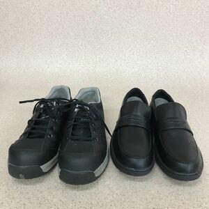 D1770 極美品含 まとめ売り(27.0cm お得な2点セット)MIDORI ミドリ HiGRIP ハイグリップ WORKPLUS ワークブラス メンズ シューズ 安全靴