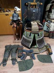 江戸時代 獅子打出胴甲冑