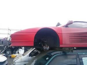 ■フェラーリ テスタロッサ フロントフェンダー 左 中古 61477200 Ferrari testarossa ■