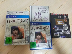 PS4 Life Is Strange サントラ付 ライフイズストレンジ リミテッドエディション