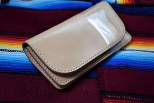 Leather works ★ ウォレット サドルレザー 手縫い 本革 経年変化 ★