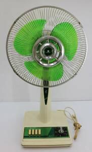 通電確認済 サンヨー SANYO 扇風機 お座敷扇 EF-C30N型 LIVING TYPE 昭和レトロ アンティーク ビンテージ