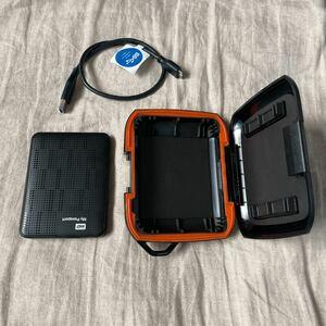 500GB 外付けHDD ケース付き