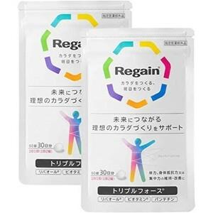 【送料無料】第一三共 リゲイン トリプルフォース 60錠 2袋セット
