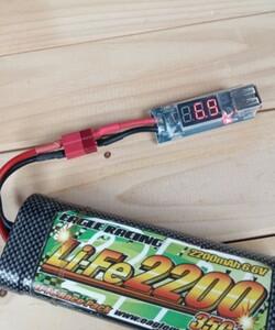 ラジコンバッテリー用 USB 充電器ティーンズタイプです