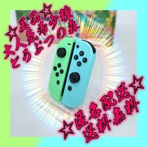 匿名配送・送料無料!Nintendo Switch限定版どうぶつの森ジョイコン