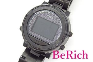 セイコー SEIKO ワイアード WIRED メンズ 腕時計 W360-0AB0 黒 ブラック 文字盤 SS ソーラー クォーツ QZ デジタル GMT【中古】ht3831