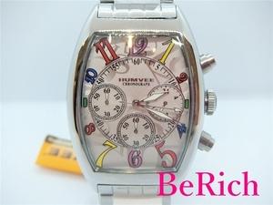 ハンヴィー HUMVEE メンズ 腕時計 H-2013 シルバー 文字盤 SS クロノグラフ クォーツ QZ ウォッチ 【中古】ht2998
