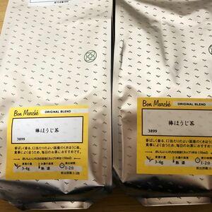 ルピシア 国産棒ほうじ茶リーフ100g×2p【送料込】
