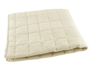 R3895■訳あり キルトラグ 麻混綿素材 洗える シャリ感 0.8畳 90x130cm ベージュ