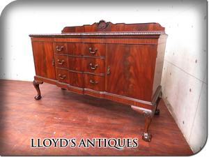 ■美品■Lloyd's Antiques/ロイズアンティークス■英国最高級■Real Antique■BUCKLEY&PROCKTER■マホガニー■サイドボード/50万/sww6288t